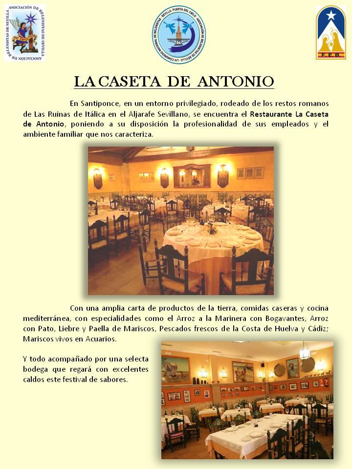 Restaurante La caseta de Antonio