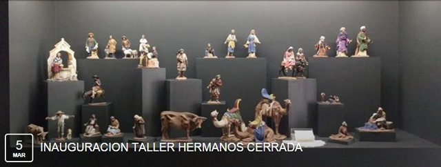 INAUGURACIÓN DEL NUEVO TALLER DE LOS HERMANOS CERRADA